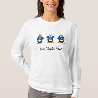 Pingüinos con el camisetas