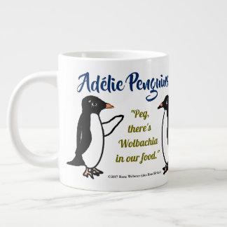 Pingüinos de Adélie 20 onzas. taza por RoseWrites