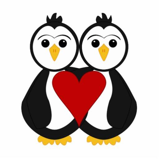 Pinguinos animados de amor Imagui