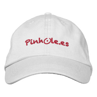 Pinhole red gorra de beisbol bordada
