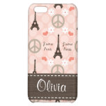 PInk Eiffel Tower  Case For iPhone 5C