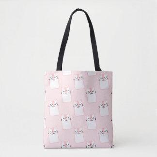 Pink Kitty Bolso De Tela
