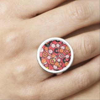 pink licor de cereza anillos