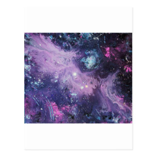 Pink Nebula Postal