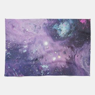 Pink Nebula Toalla De Cocina