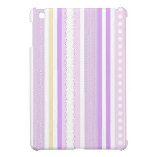 Pink pattern iPad mini cárcasas