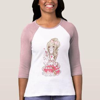 Pinkarol para el descenso absolutamente lindo camiseta
