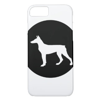 pinscher del doberman funda para iPhone 8/7