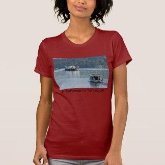 Pinta. La camisa de las mujeres del transbordador