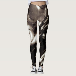 Pinta las polainas leggings
