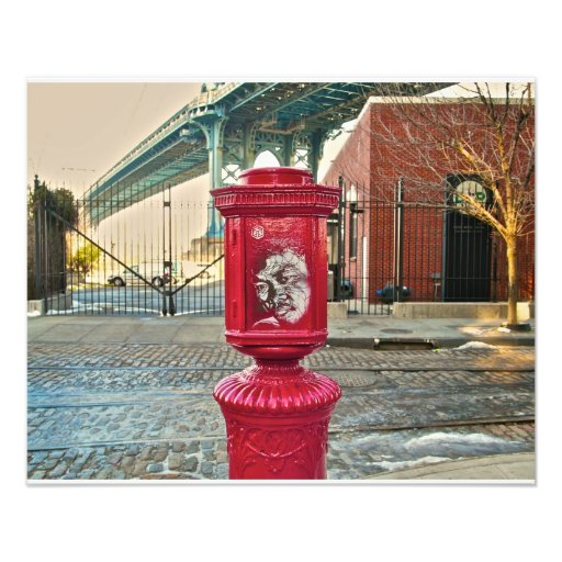 Pintada Brooklyn NYC Impresión Fotográfica