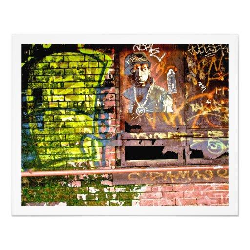 Pintada Brooklyn NYC Arte Fotográfico