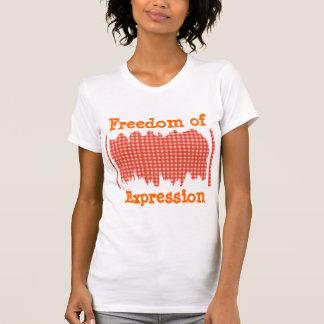 PINTADA de KOOLshades:  Libertad de expresión Camisetas