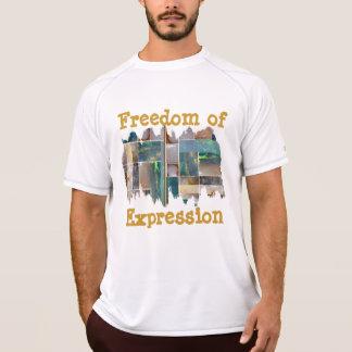 PINTADA de KOOLshades:  Libertad de expresión Remeras
