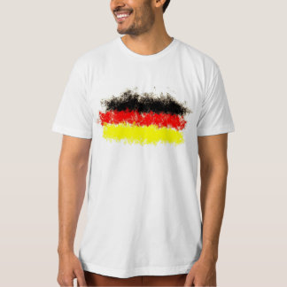 pintada de la bandera de Alemania Camiseta