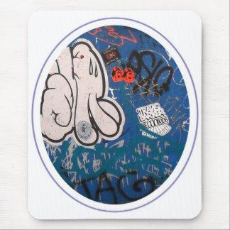 """Pintada de la """"etiqueta"""" alfombrilla de ratón"""