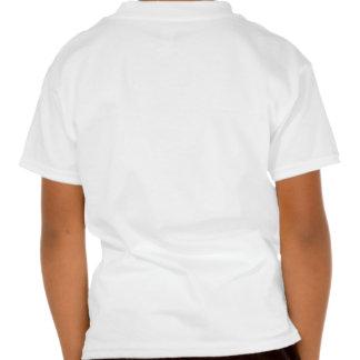 "Pintada de la ""etiqueta"" camiseta"