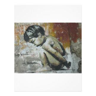 Pintada de Little Boy Flyer A Todo Color
