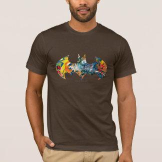 Pintada del logotipo Neon/80s de Batman Camiseta