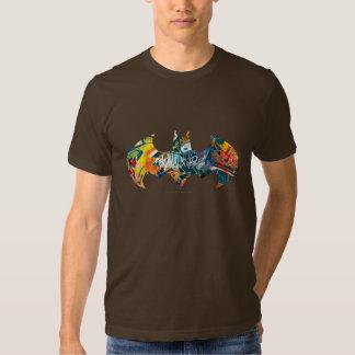 Pintada del logotipo Neon/80s de Batman Camisetas