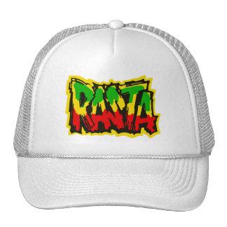 Pintada del reggae de Rasta Gorras