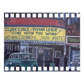 Pintada del teatro anuncios