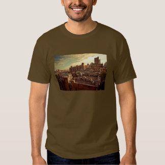 Pintada del tejado de Chinatown Camisetas
