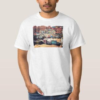 Pintada del tejado en Chinatown Camisetas