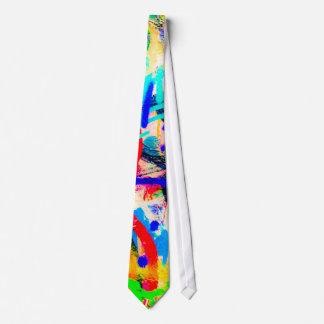 Pintada loca corbata