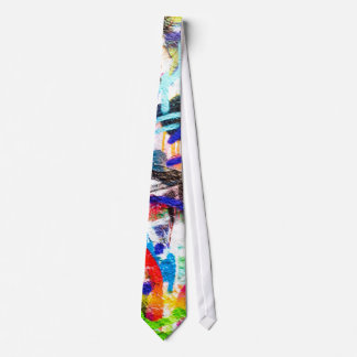 Pintada loca corbata personalizada