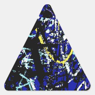 Pintada Pegatina Triangular