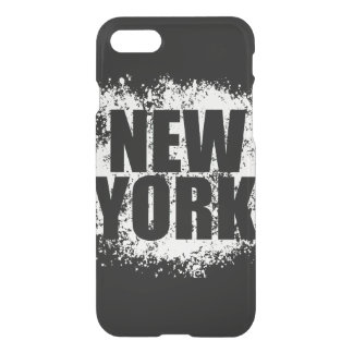 Pintada urbana de Nueva York Funda Para iPhone 7