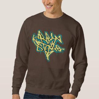 Pintada urbana del estilo del suéter de los