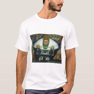 pintada y tonos camiseta