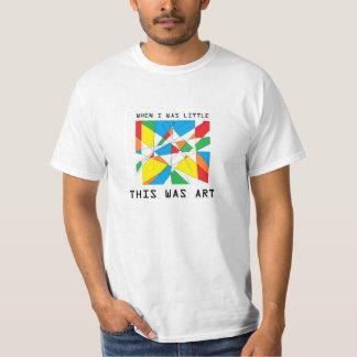 Pinte el arte camisetas