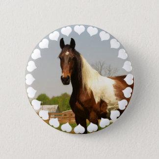 Pinte el botón del caballo