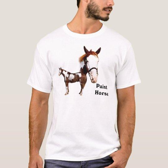 Pinte el caballo camiseta