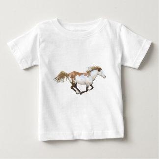 Pinte el caballo, Dixie Camiseta Para Bebé