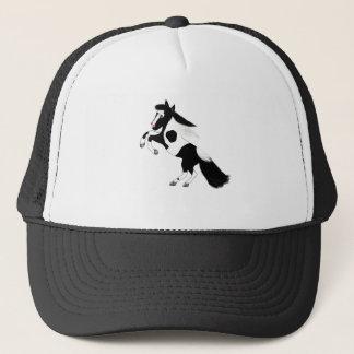 Pinte el caballo gorra de camionero