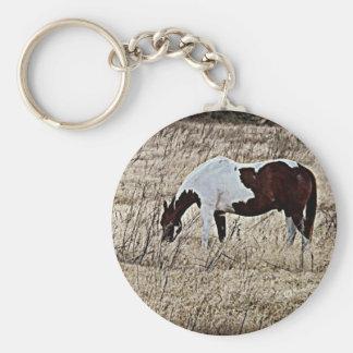 Pinte el caballo llavero