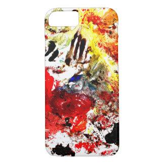 Pinte el caso del iPhone 7 de la salpicadura Funda iPhone 7