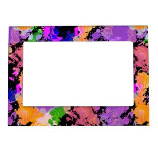 Pinte el marco magnético de la foto del