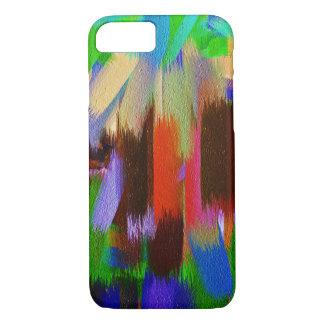 Pinte el movimiento #7 del cepillo de la funda iPhone 7
