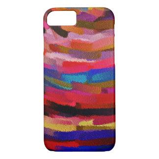 Pinte el movimiento #8 del cepillo de la funda iPhone 7