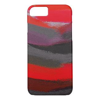 Pinte el movimiento del cepillo de la salpicadura funda iPhone 7