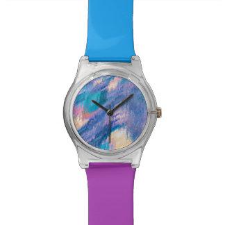 Pinte el reloj del chapoteo
