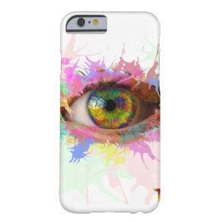 Pinte la caja del ojo (iPhone 6/6s) Funda Barely There iPhone 6