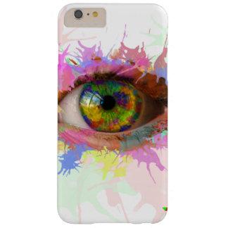Pinte la caja del ojo (iPhone 6/6s más) Funda Barely There iPhone 6 Plus
