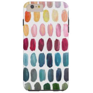 Pinte la caja del teléfono celular de la caja funda resistente iPhone 6 plus