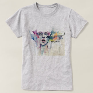 Pinte la cara camiseta